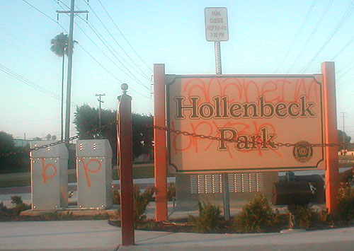 city of stanton hollenbeck park